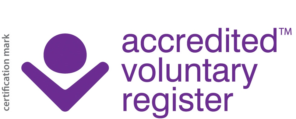 The logo of the Directory of Accredited Voluntary Registers